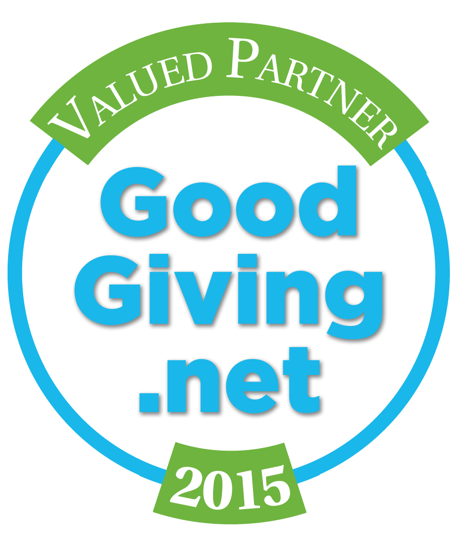 GoodGiving button